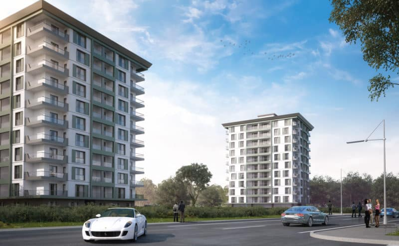 Sea View Apartments in Trabzon