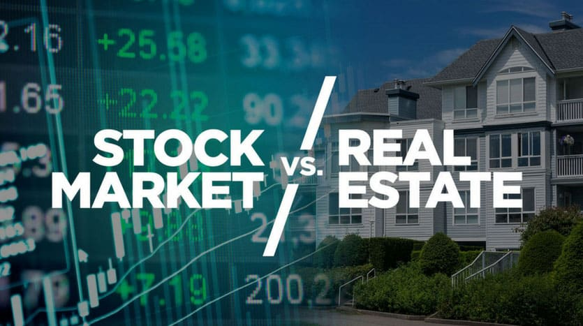 Why to invest in the real estate instead of the stock market?