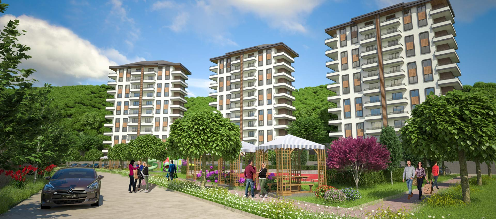 Uzungol Residential Project in Trabzon