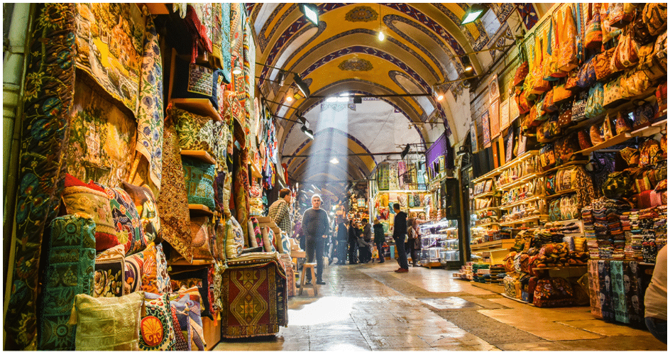 Grand Bazaar in turkey